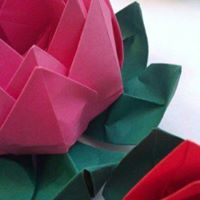 origami water lily | Images For Studyng HD | 200x200